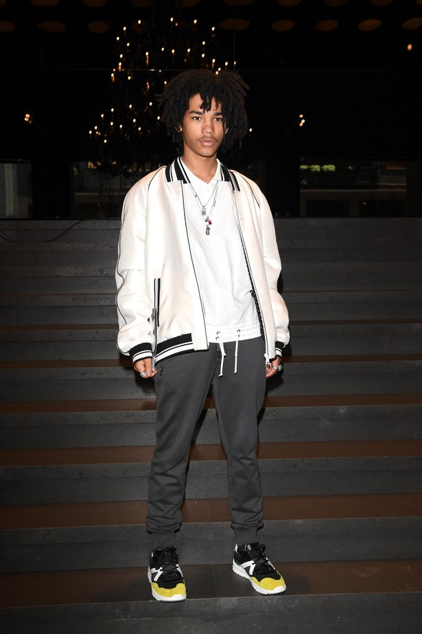 Luka Sabbat at Dolce and Gabbana.
