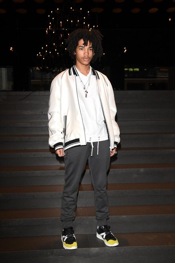 Luka Sabbat at Dolce and Gabbana.
