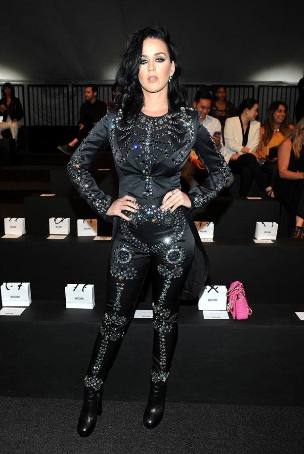 Katy Perry at Moschino.