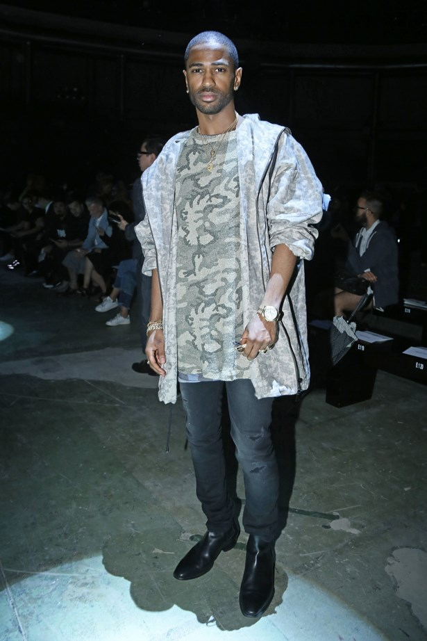 Big Sean at Vivienne Westwood.
