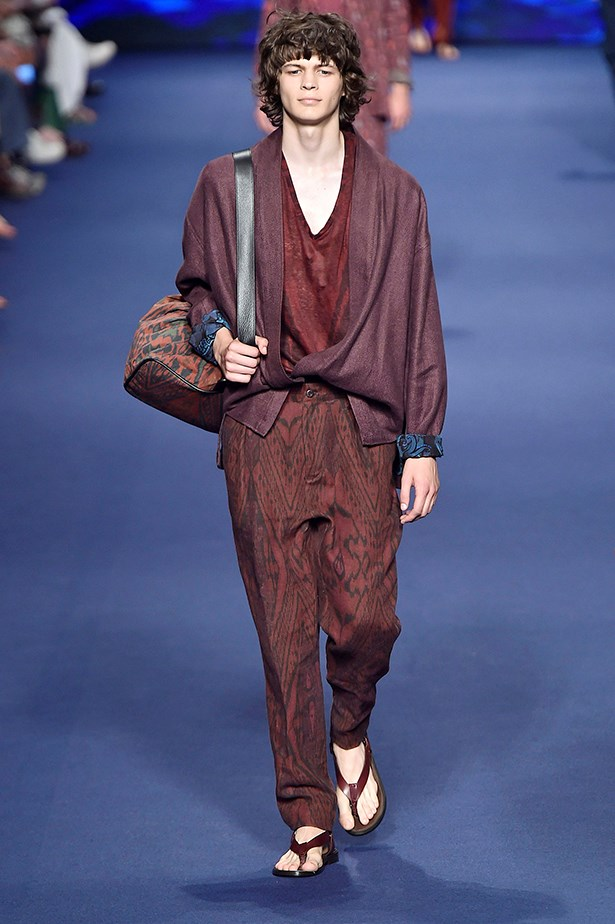 Etro SS17 Menswear.