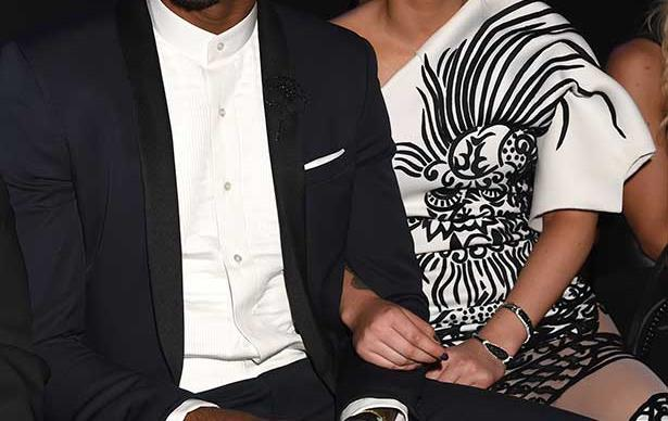 Professional basketball player Nick Young (L) and singer Iggy Azalea attend the 2014 MTV Video Music Awards