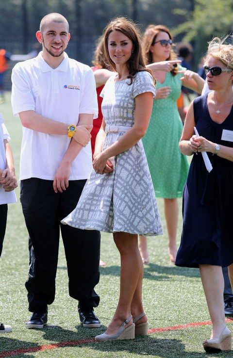 <p> <strong>ROCKING TOO MANY WEDGES</strong><p> <p> Along with her shorter hemlines, the Queen rung the death knell for Kate's ubiquitous wedges, her shoe of choice for many casual public appearances.