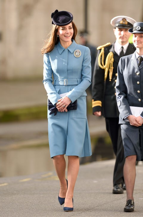 "<p> <strong>BEING TOO BUTTONED UP</strong><p> <p> <em><a href=""http://www.dailymail.co.uk/femail/article-3530869/Duchess-Drab-s-mystery-cosmos-DOES-beautiful-woman-make-designer-outfits-look-frumpy.html"">The Daily Mail</a></em> officially declared Kate the ""Duchess of Drab"" following the Queen's style makeover, calling out this coat dress in particular for being too stiff."