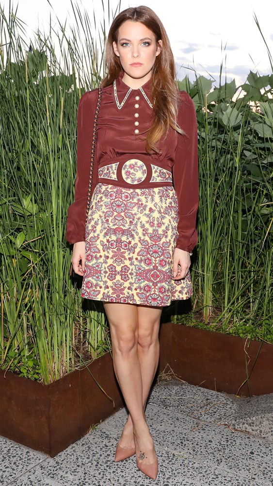 Riley Keough at the Coach & 'Friends of the High Line' summer party in New York.