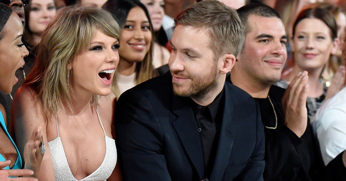 calvin harris on taylor swift breakup
