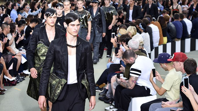 Givenchy SS17 menswear Paris Fashion Week