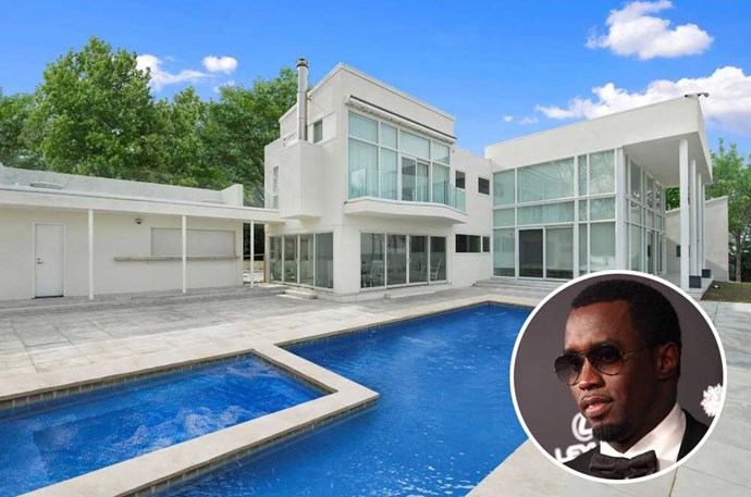 "</p><p><b>Sean ""Diddy"" Combs</p><p></b> Location: East Hampton, New York</p><p> Home to his famous White Parties, rapper Sean ""Diddy"" Combs' breathtaking East Hampton summer mansion is the ultimate party pad. The waterfront view of the ocean can be seen from any part of the house, thanks to its ample glass walls. While most of us haven't received an invitation to these star-studded soirees, there are plenty of <a href=""http://hamptons.curbed.com/2016/3/3/11152868/sean-combs-diddy-puffy-east-hampton-estate-rental"">amazing pictures</a> of the house for us to enjoy from afar."