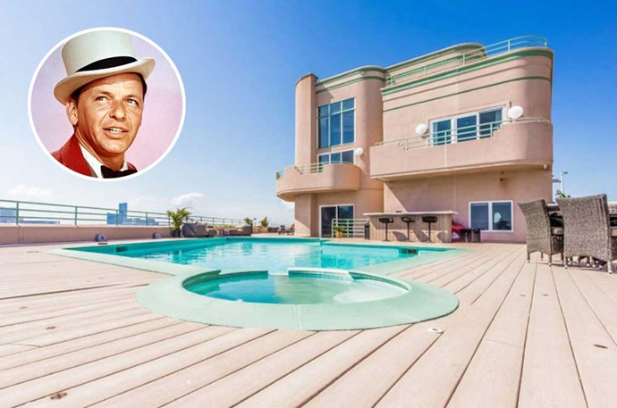 "</p><p><b>Frank Sinatra</b></p><p> Location: Brigantine, New Jersey</p><p> Ol' Blue Eyes may have sang about his love for New York, but one of his <a href=""http://www.elledecor.com/celebrity-style/celebrity-homes/g2853/frank-sinatra-homes/"">many swanky</a> homes was his summer retreat, which sat across the river in not-so-sleepless New Jersey. This five-bedroom beach house has views of Atlantic City and an outdoor bar and pool—not to mention one of Sinatra's <a href=""http://www.dailymail.co.uk/news/article-3269191/A-thing-beauty-New-Jersey-mansion-used-Frank-Sinatra-retreat-1991-grabs-2-million-comes-complete-singer-s-wig.html"">old toupees </a>that was found on the property in 2015."