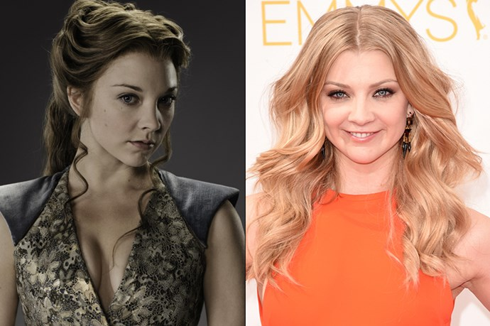 Natalie Dormer as Margaery Tyrell.