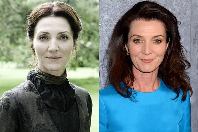 Michelle Fairley as Catelyn Stark.
