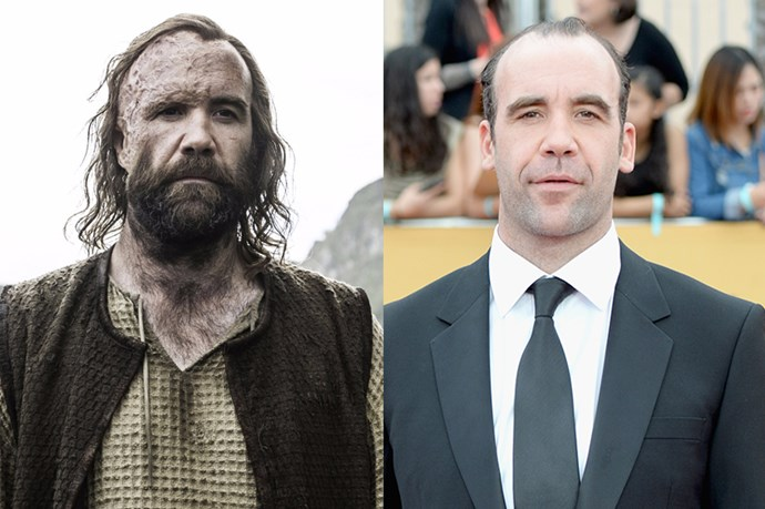 Rory McCann as Sandor 'The Hound' Clegane.