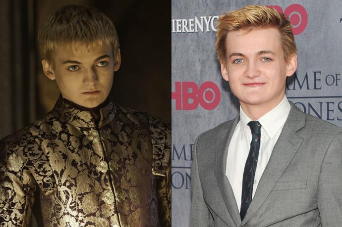 Jack Gleeson as Joffrey Baratheon.