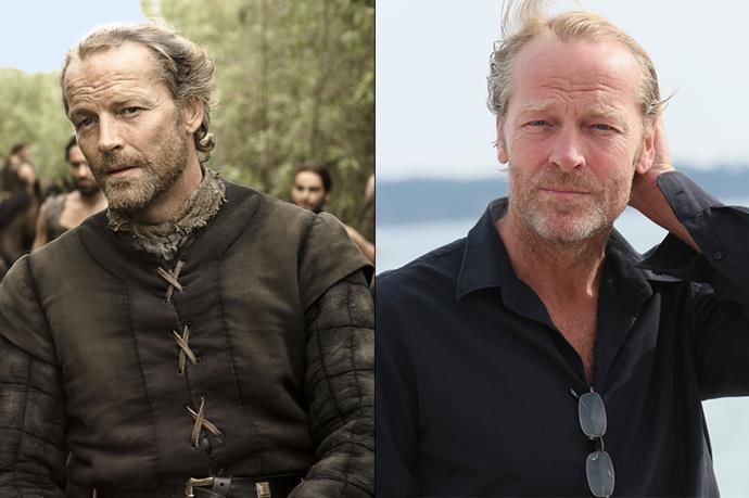 Iain Glen as Jorah Mormont.