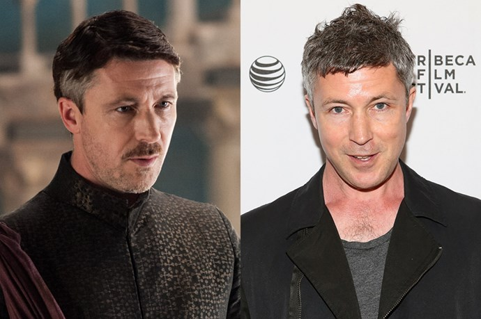 Aidan Gillen as Petyr 'Littlefinger' Baelish.