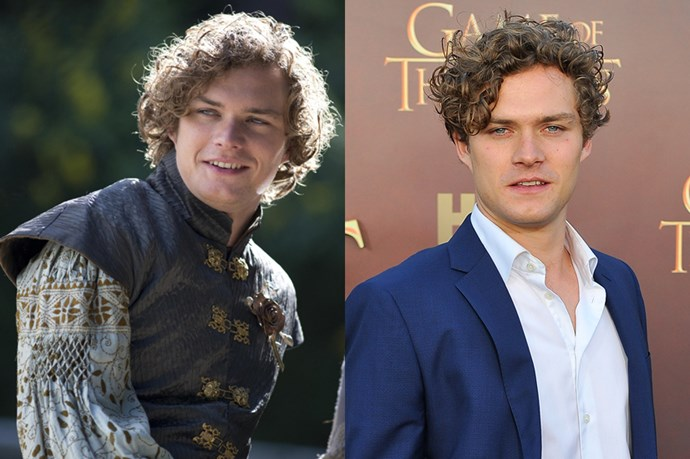 Finn Jones	as Loras Tyrell.