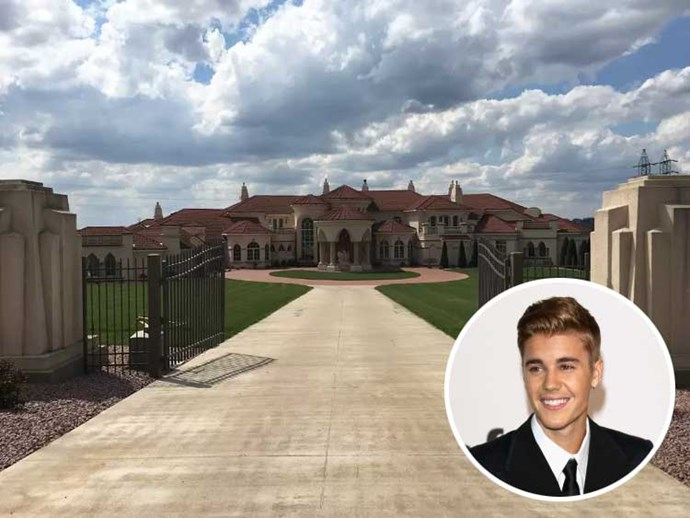 Justin Bieber and a $14,000-per-night Illinois home he rented when his tour bus broke down