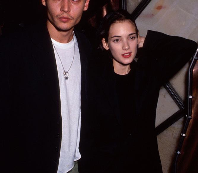 Johnny Depp Winona Ryder