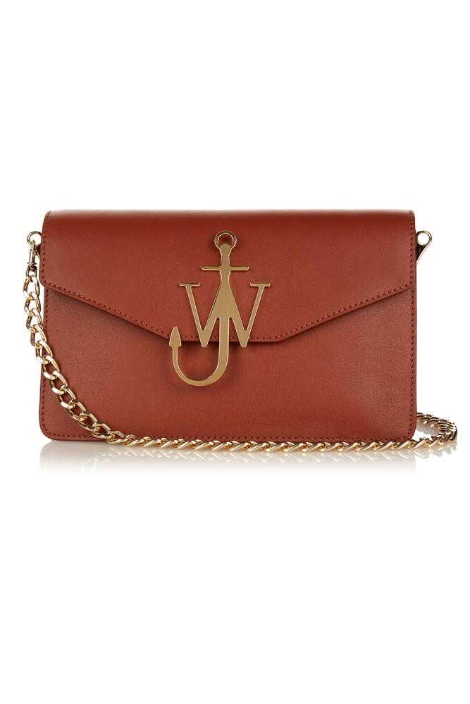 "<a href=""http://www.matchesfashion.com/au/products/J-W-Anderson-Monogram-leather-shoulder-bag-1057744"">Bag, $1,464, J.W.Anderson at matchesfashion.com</a>"