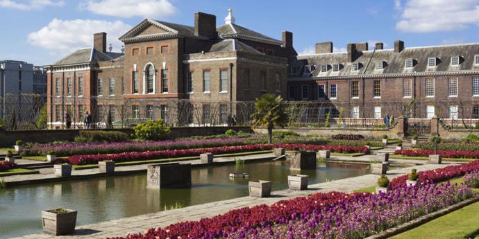 Kensington Palace Princess Diana apartment