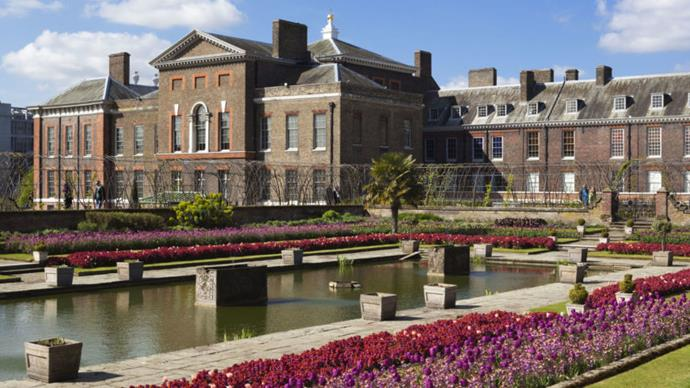 Kensington Palace Princess Diana apartment