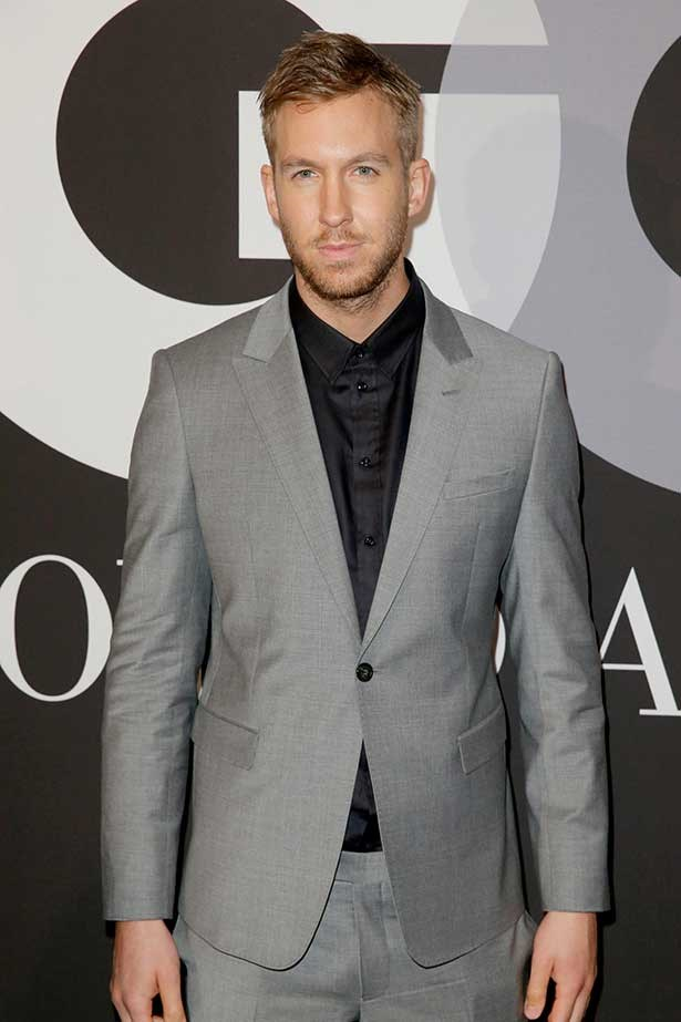 Recording artist Calvin Harris attends GQ and Giorgio Armani Grammys After Party