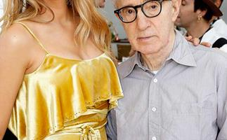 Actress Blake Lively and director Woody Allen