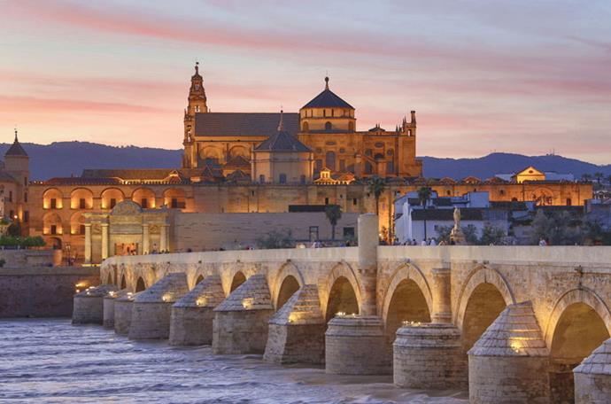 <strong>GO VISIT: CÓRDOBA, SPAIN</strong> <br><br> Volantis is based on the Roman Bridge of Córdoba. It was built in the 1st Century BC and stands strong in the historic city in Spanish Andalusia. GETTY