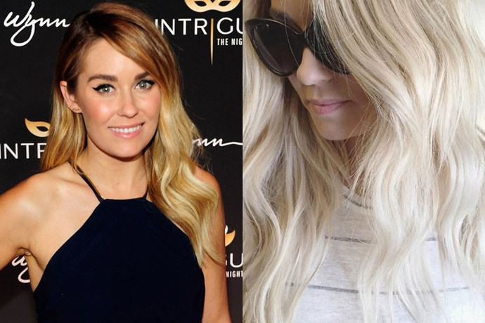 <p>Lauren Conrad <strong>Lauren Conrad</strong></p> <p>Laguna Beach native and do-it-all blogger Lauren has returned to her blonde roots. This time though she's gone platinum and we're not minding it one bit.</p>