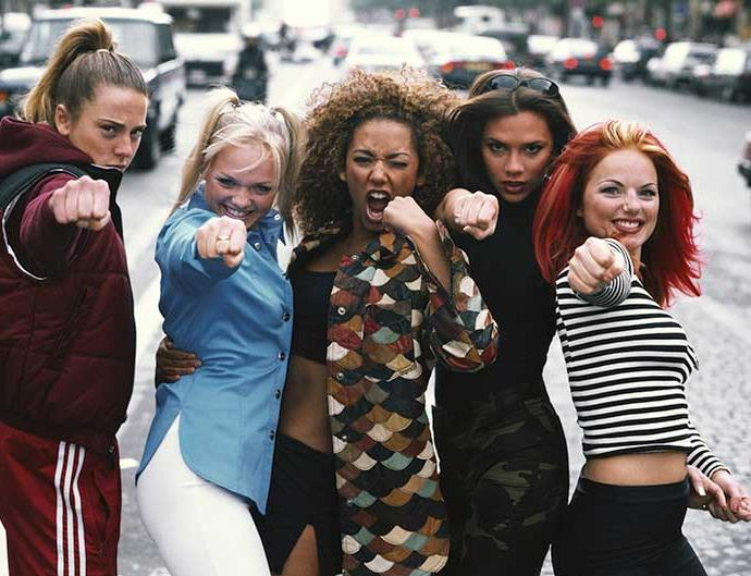 The Spice Girls in Paris