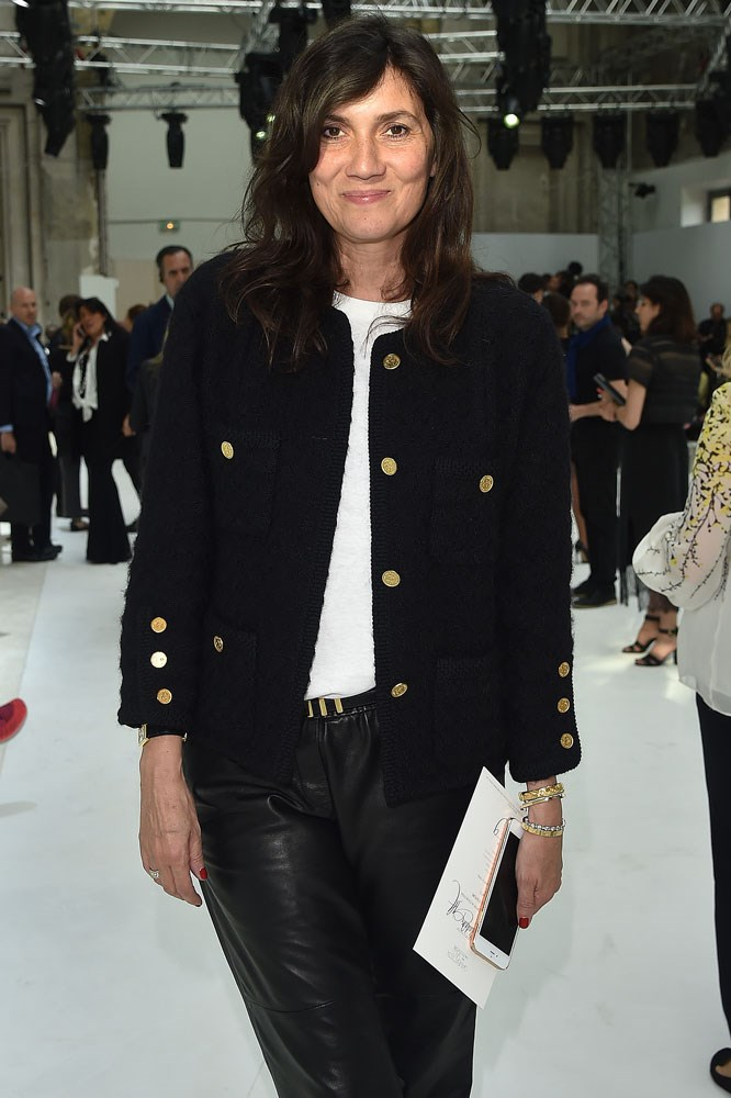 Emmanuelle Alt at Giambattista Valli