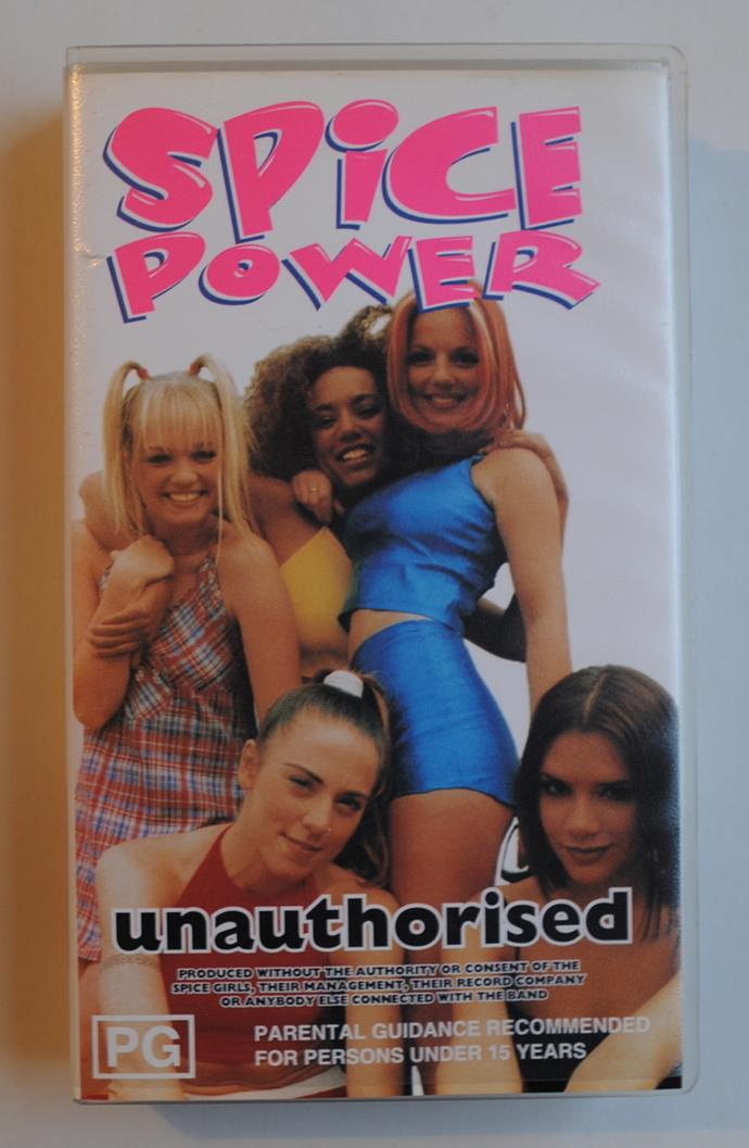 A variety of unauthorised merch, and probably some photos from the time you saw the fake Spice Girls at your local RSL and told your friends at school that they were almost as good as the real thing.