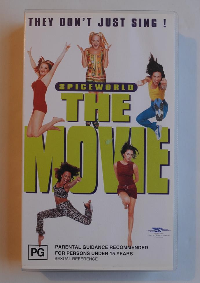 The greatest movie ever made, on VHS.