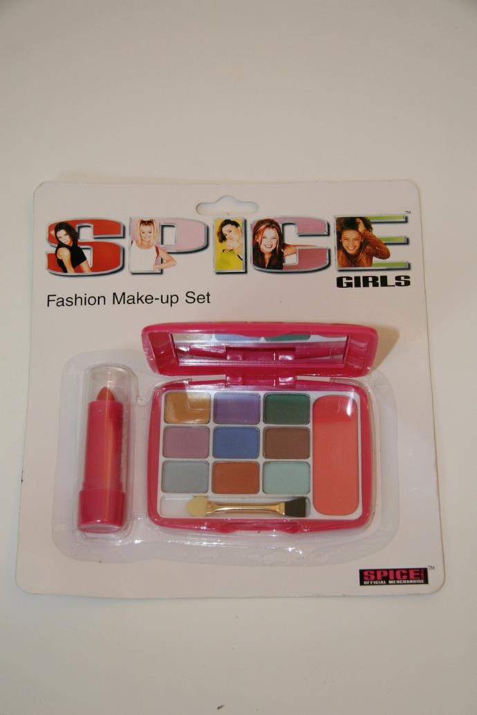 The make up palette that would kick off a life long love affair with cosmetics.