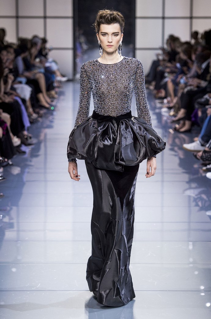 Armani Privé Fall 2016 Haute Couture