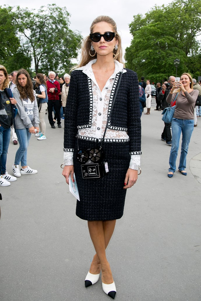 Chiara Ferragni at Chanel