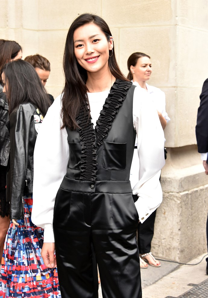 Liu Wen at Chanel