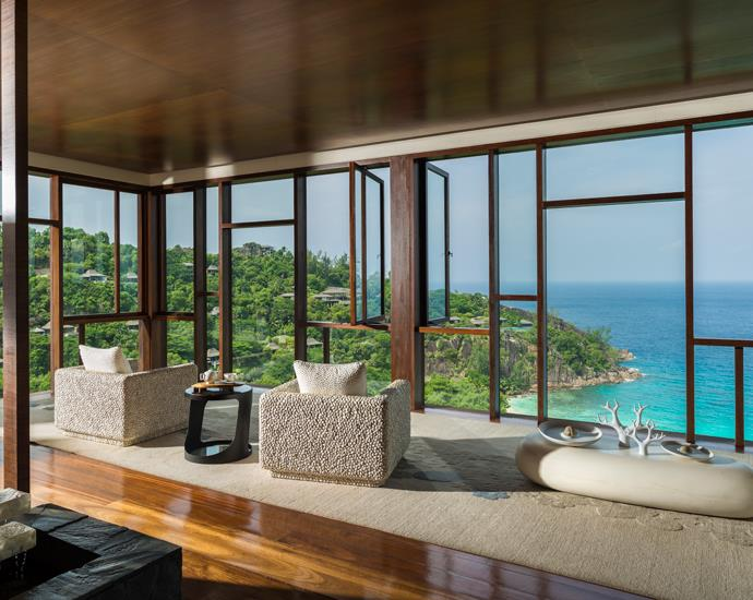 seychelles ocean travel spa lounge