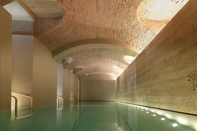 <p><strong>Where:</strong> The Spa at The Four Seasons Hotel, Milan, Italy</p> <p><strong>Top treatment:</strong> Sleek and chic like the stylish women who inhabit the city, the Spa at the Four Seasons Hotel provides treatments inspired by rituals connected to the earth, air and sun.  Using ingredients sourced from Tauleto Vineyard, you can take your love for Italian wine to a whole new level with the treatment products including powerful antioxidants from fermented red grapes and leaves and sap from the vines. If you're after something different, try the Ritual Candle Massage (70 minutes, from $240). It begins with a footbath to soak those weary feet – perfect after a long day of shopping. Wax from a heated candle is then melted slowly; forming a nourishing body balm as your therapist gently massages it into the skin for the ultimate Italian indulgence.</p>