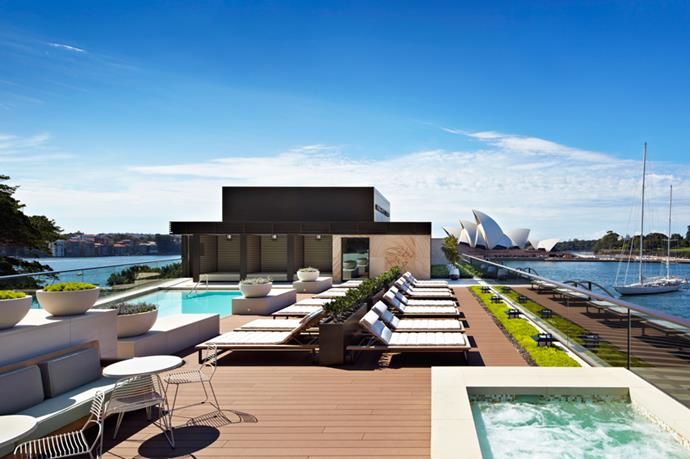 <p><strong>Where:</strong> The Spa, Park Hyatt Sydney, Australia</p> <p><strong>Top treatment:</strong> Perched above Sydney Harbour, with views of both the Opera House and Harbour Bridge, the Park Hyatt Sydney is the ultimate urban escape. Relax with the Native Clay And Hot Oil massage ($210 for 90 minutes)—it's a full-body treatment designed to relieve weary muscles. By rights, having hot oil poured directly into a clay ring on your back should get messy, but the clever design means the oil is contained and comforting. The rooms are seriously enormous and come with a private shower, should you want to freshen up afterwards.</p>