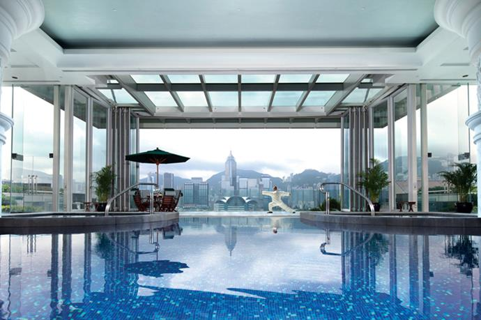 <p><strong>Where:</strong> The Peninsula, Hong Kong</p> <p><strong>Top Treatment:</strong> The Peninsula doesn't do anything by halves, so naturally a Four Hands Synchronised Massage ($320 for one hour) is on offer. A duo of therapists work with perfect synchronicity, combining Eastern and Western techniques and varied levels of pressure to minimise muscle tension and maximise bliss. Leave time post-treatment to explore the multi-room thermal relaxation suite—it has million-dollar views of Victoria Harbour, saunas, steam rooms and infra-red ice fountains. </p>