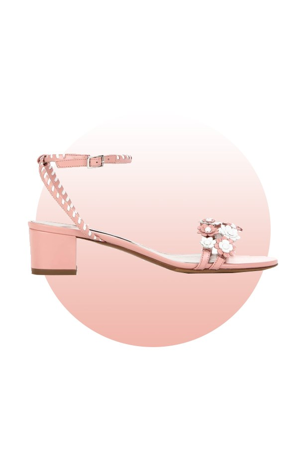 "Shoes, $614, <a href=""http://www.mytheresa.com/en-de/folie-embellished-leather-sandals-571124.html?catref=category"">Tabitha Simmons at mytheresa.com</a>."
