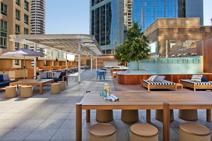 primus hotel sydney rooftop pool bar