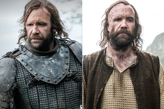The Hound in season one, and in season six.