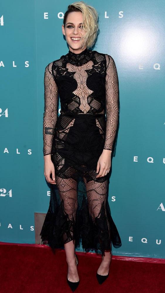 Kristen Stewart at the LA premiere of <em>Equals</em>