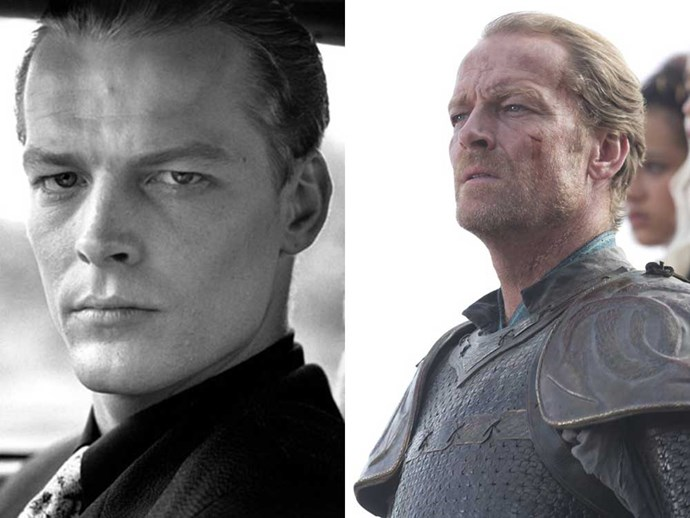 </p><p><b>Iain Glen</b> as  Carl Galton (1988) in <em>The Fear</em>, and as Ser Jorah Mormont in <em>Game of Thrones</em>.