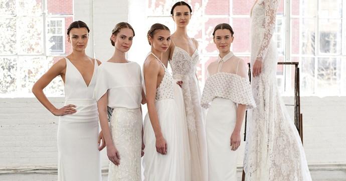 bridal fashion week gowns