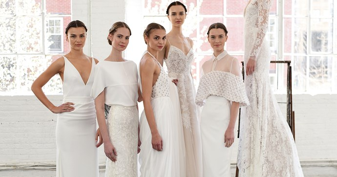 bridal fashion week gowns