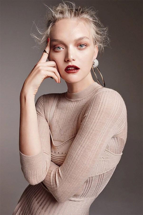 Gemma Ward ELLE Australia.
