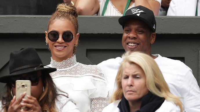 Beyonce Serena Williams Wimbledon